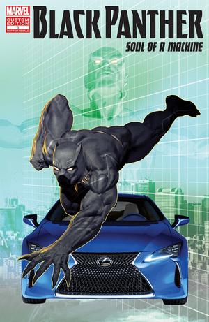 Black Panther Soul of a Machine Vol 1 1