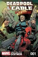 Deadpool & Cable Split Second Infinite Comic Vol 1 1