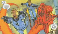 Fantastic Four (Earth-98) from Fantastic Four Annual Vol 1 1998 0001