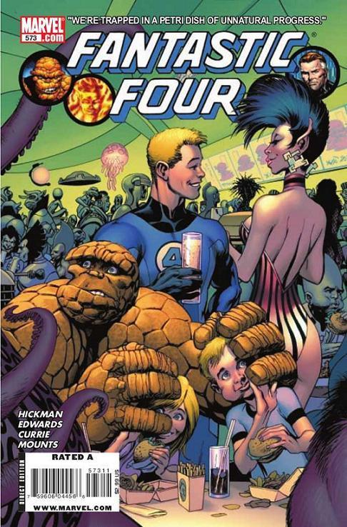 Fantastic Four Vol 1 573