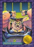 Frederick Dukes (Earth-616) from X-Men (Trading Cards) 1993 0001