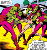 Hydro-Men (Earth-616) capture Namor McKenzie (Earth-616) from Sub-Mariner Vol 1 61