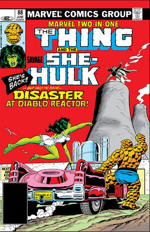 Marvel Two-In-One Vol 1 88