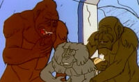 Super Apes (Earth-700089) from Fantastic Four (1967 animated series) Season 1 4 0001