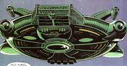 A.I.M. Ship from Nick Fury vs. S.H.I.E.L.D. Vol 1 1 001