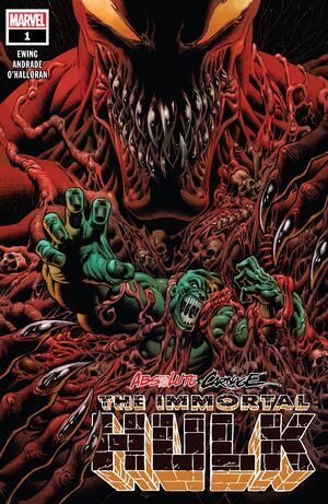 Absolute Carnage Immortal Hulk Vol 1 1