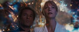 Aldrich Killian (Earth-199999) and Virginia Potts (Earth-199999) from Iron Man 3 (film) 001