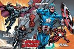 Avengers (Earth-14101) from Avengers Assemble Featuring Captain Citrus Vol 1 1