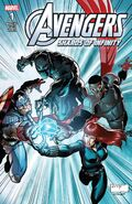 Avengers Shards of Infinity Vol 1 1