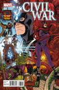 Civil War Vol 2 1 50 Years of Inhumans Variant