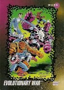 Evolutionary War (Earth-616) from Marvel Universe Cards Series III 0001