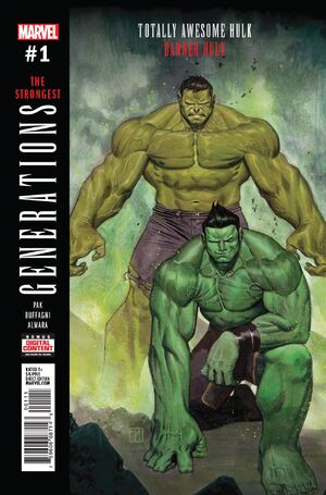 Generations Banner Hulk & The Totally Awesome Hulk Vol 1 1