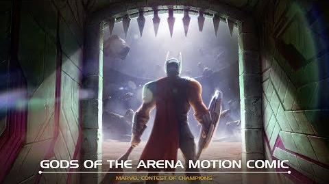 Gods of the Arena Motion Comic Marvel Contest of Champions