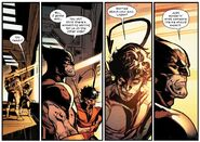 James Howlett (Earth-616) and Kurt Wagner (Earth-616) from House of X Vol 1 4 001