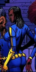 Joanna Cargill (Earth-5700) from Weapon X Days of Future Now Vol 1 4 0001