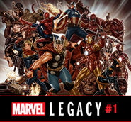 Marvel Legacy Vol 1 1 Brooks Wraparound Variant