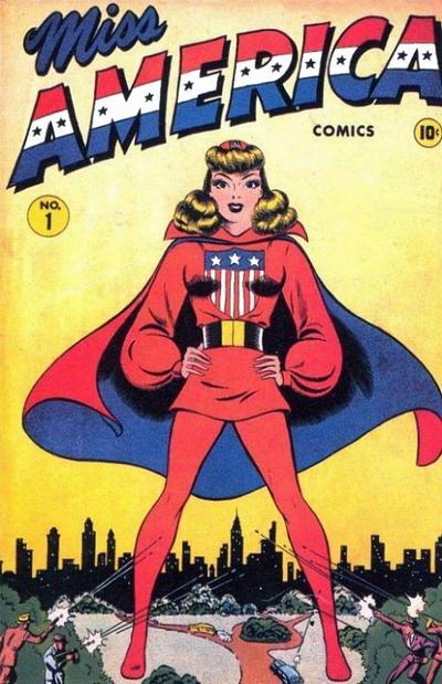 Miss America Comics Vol 1 1 Marvel Database Fandom