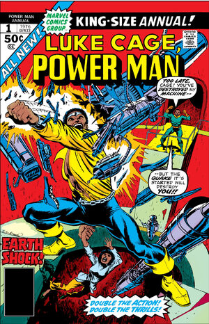 Power Man Annual Vol 1 1