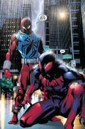 Sergei Kravinoff (Earth-616) and Kaine Parker (Earth-616) from Scarlet Spider Vol 2 21 0001