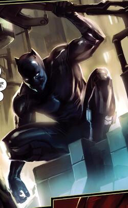 T'Challa Udaku (Earth-1610) from Ultimate Captain America Annual Vol 1 1 0005
