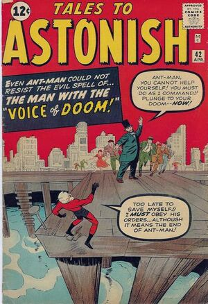Tales to Astonish Vol 1 42 Vintage