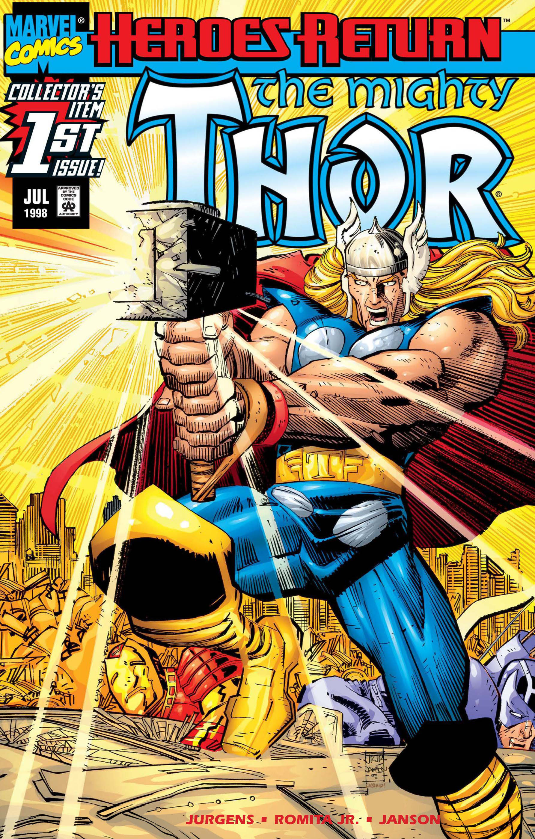 marvel comics thor no.1