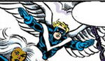 Warren Worthington III (Earth-77013) from Spider-Man Newspaper Strips Vol 1 2006