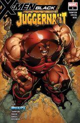 X-Men: Black - Juggernaut Vol 1 1