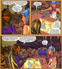 Xavin (Earth-616) and Molly Hayes (Earth-616) from Runaways Vol 2 19 001
