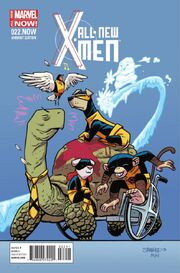 All-New X-Men Vol 1 22.NOW Animal Variant