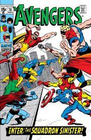 Avengers Vol 1 70