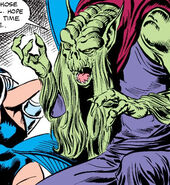 Charasulla (Earth-616) from New Mutants Annual Vol 1 1 0001