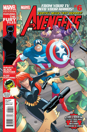 Marvel Universe Avengers - Earth's Mightiest Heroes Vol 1 6