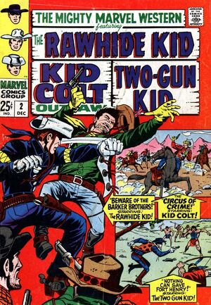 Mighty Marvel Western Vol 1 2