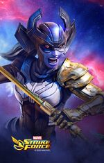 Proxima Midnight (Earth-TRN670) from Marvel Strike Force 002