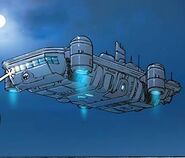 S.H.I.E.L.D. Helicarrier Iliad from Avengers A.I. Vol 1 3 001