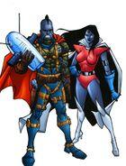 Sagittarians from Official Handbook of the Marvel Universe A-Z Update Vol 1 5 001