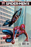Spider-Men II Vol 1 1 Saiz Connecting Variant