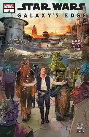 Star Wars Galaxy's Edge Vol 1 1