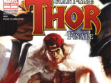 Thor Giant-Size Finale Vol 1 1