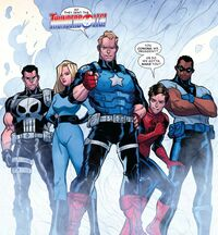Thunderbolts (Earth-TRN619) from Contest of Champions Vol 1 9 001