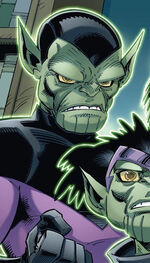 Alexander Power (Skrull) (Earth-5631) Skrulls Vs. Power Pack Vol 1 1