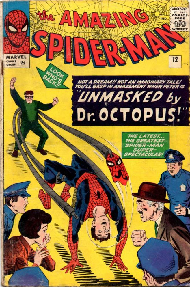 Amazing Spider Man Vol 1 12 Marvel Database Fandom