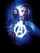 Avengers Infinity War poster 005 Textless