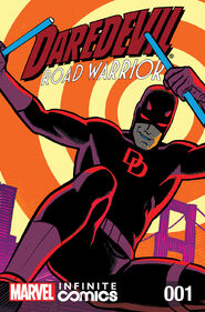 Daredevil Road Warrior Infinite Comic Vol 1 1
