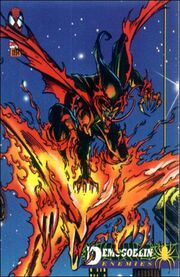 Demogoblin (Earth-616) from The Amazing Spiderman 1st Edition (Trading Cards) 0001