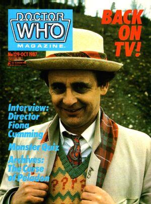Doctor Who Magazine Vol 1 129