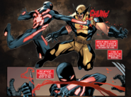 Kaine Parker and James Howlett (Earth-616) from Scarlet Spider Vol 2 17 0001