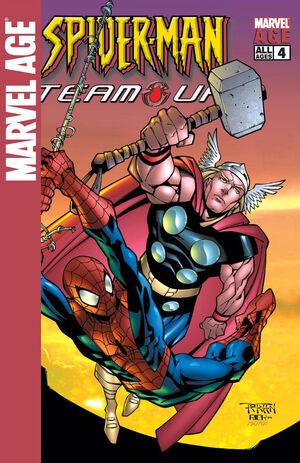 Marvel Age Spider-Man Team-Up Vol 1 4