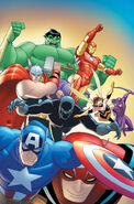 Marvel Universe Avengers - Earth's Mightiest Heroes Vol 1 3 Textless